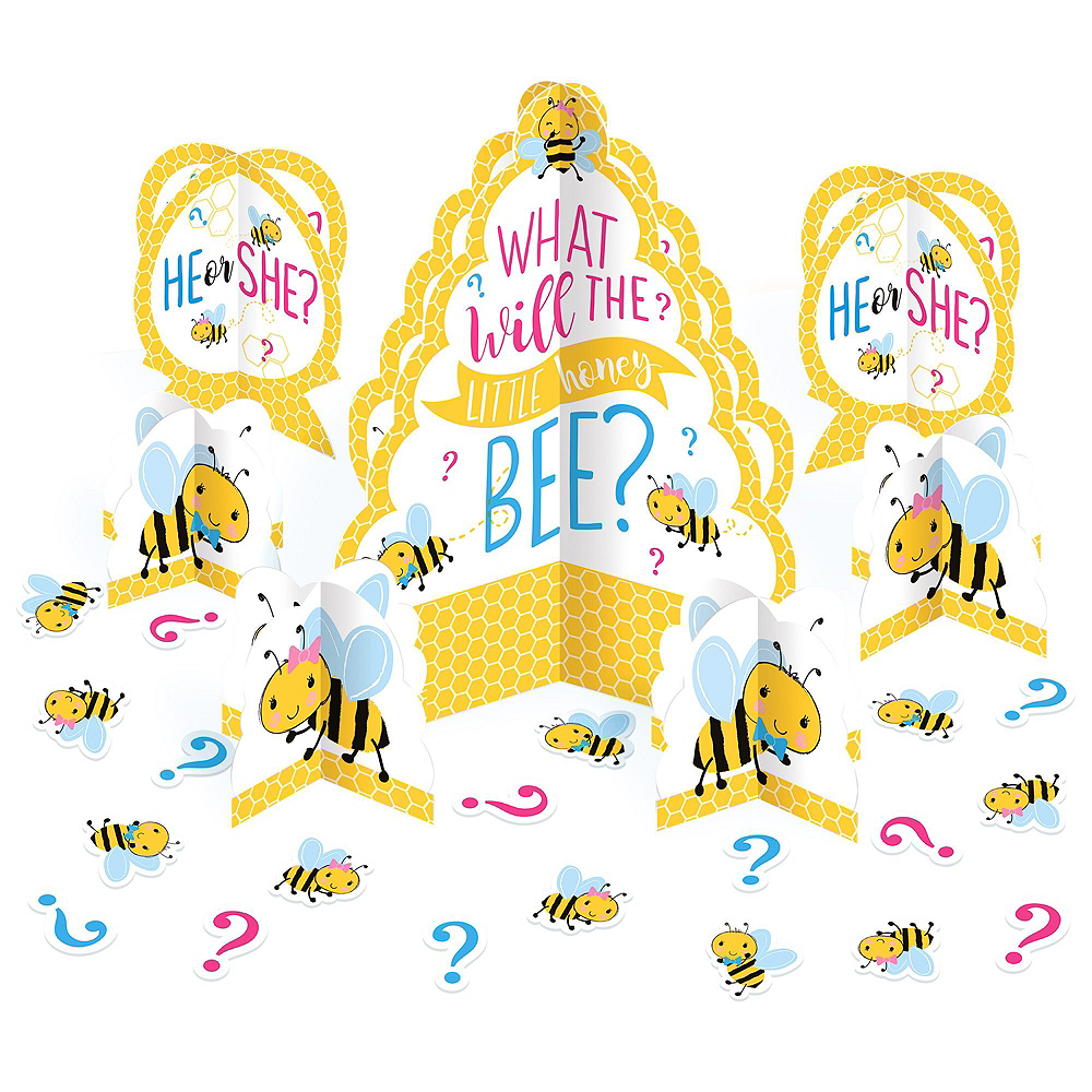 Ultimate Little Honey Bee Gender Reveal Party Kit for 32 Guests Image #16