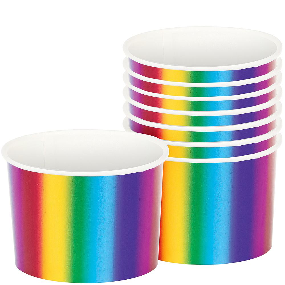 Metallic Rainbow Treat Cups 6ct Image #1