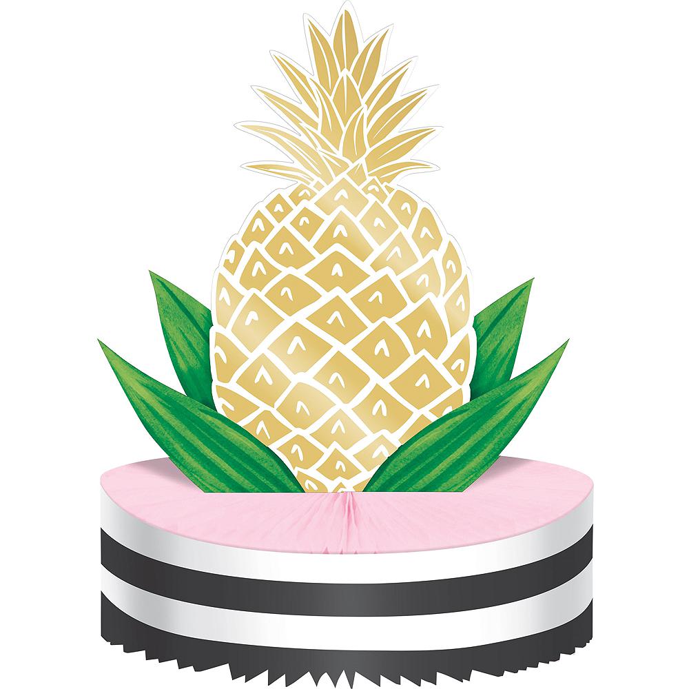 Metallic Gold Pineapple Honeycomb Centerpiece Image #1