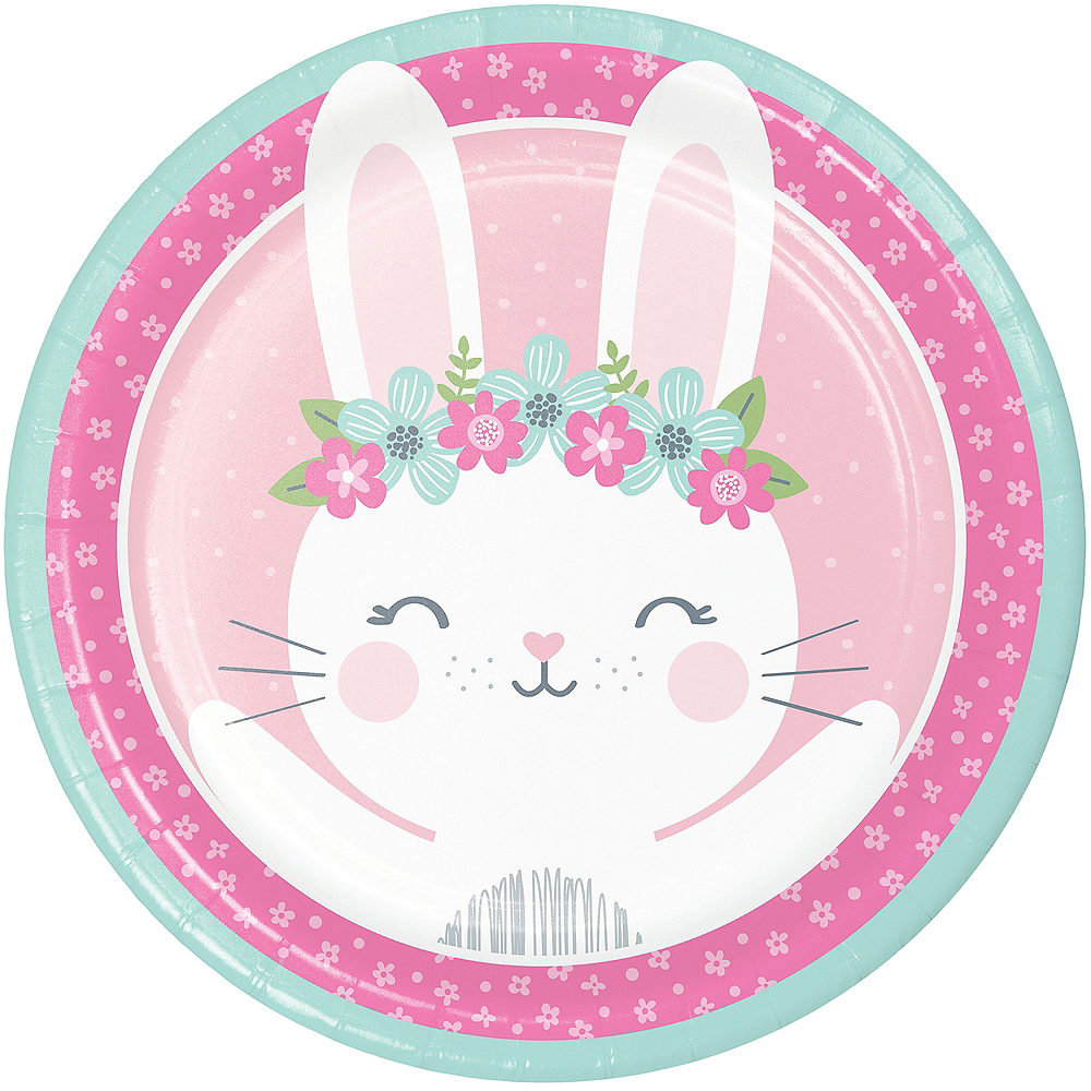 Some Bunny Lunch Plates 8ct Image #1