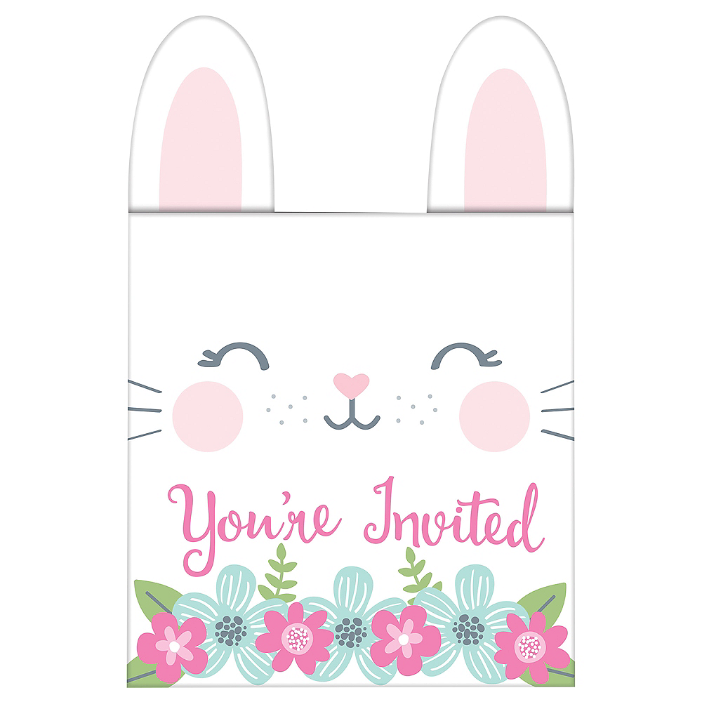 Some Bunny Popup Invitations 8ct Image #1