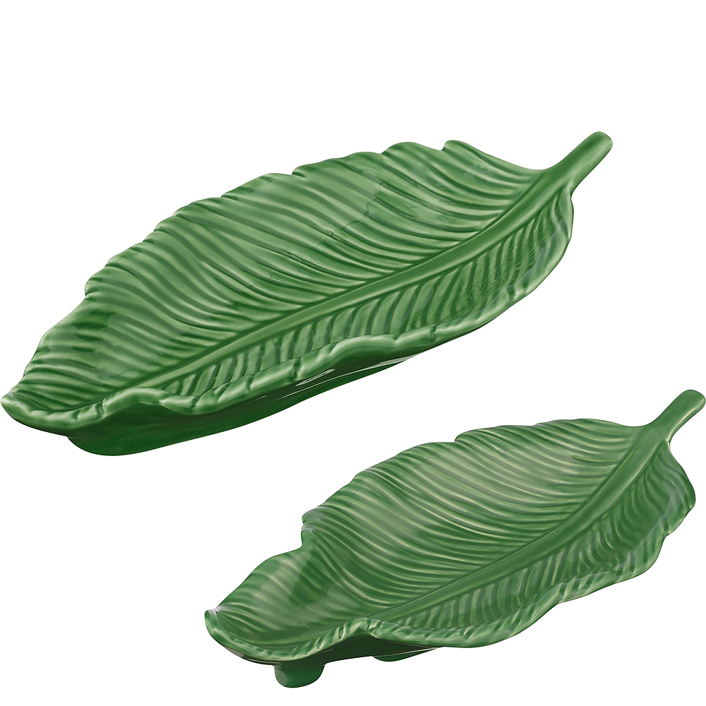 Nested Leaves Trinket Dishes 4ct Image #1