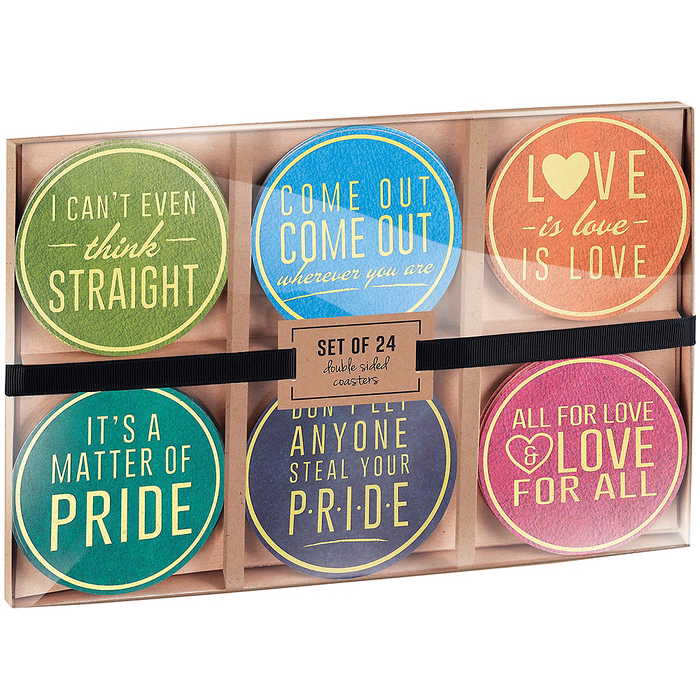 Pride Coasters 24pc Image #2