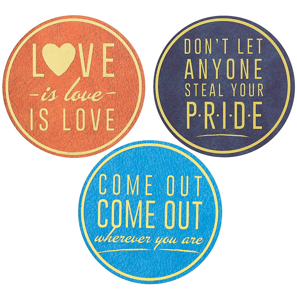 Pride Coasters 24pc Image #3