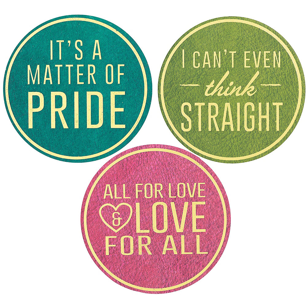 Pride Coasters 24pc Image #4