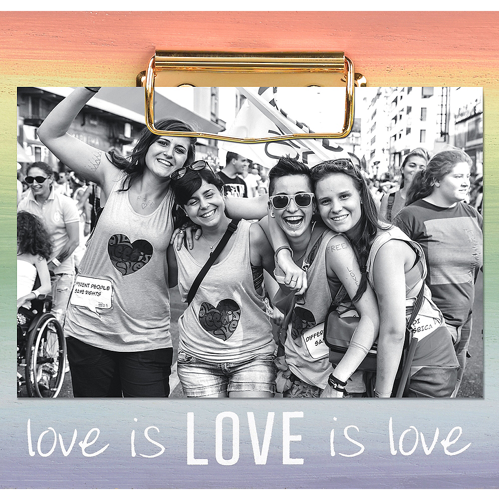 Love Is Love Clip Frame Image #1