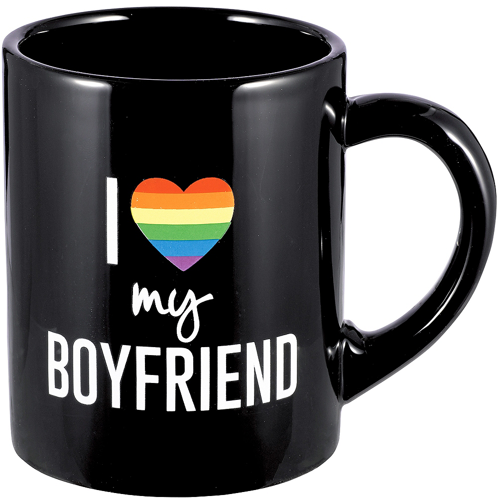 I Love My Boyfriend Coffee Mug Image #1