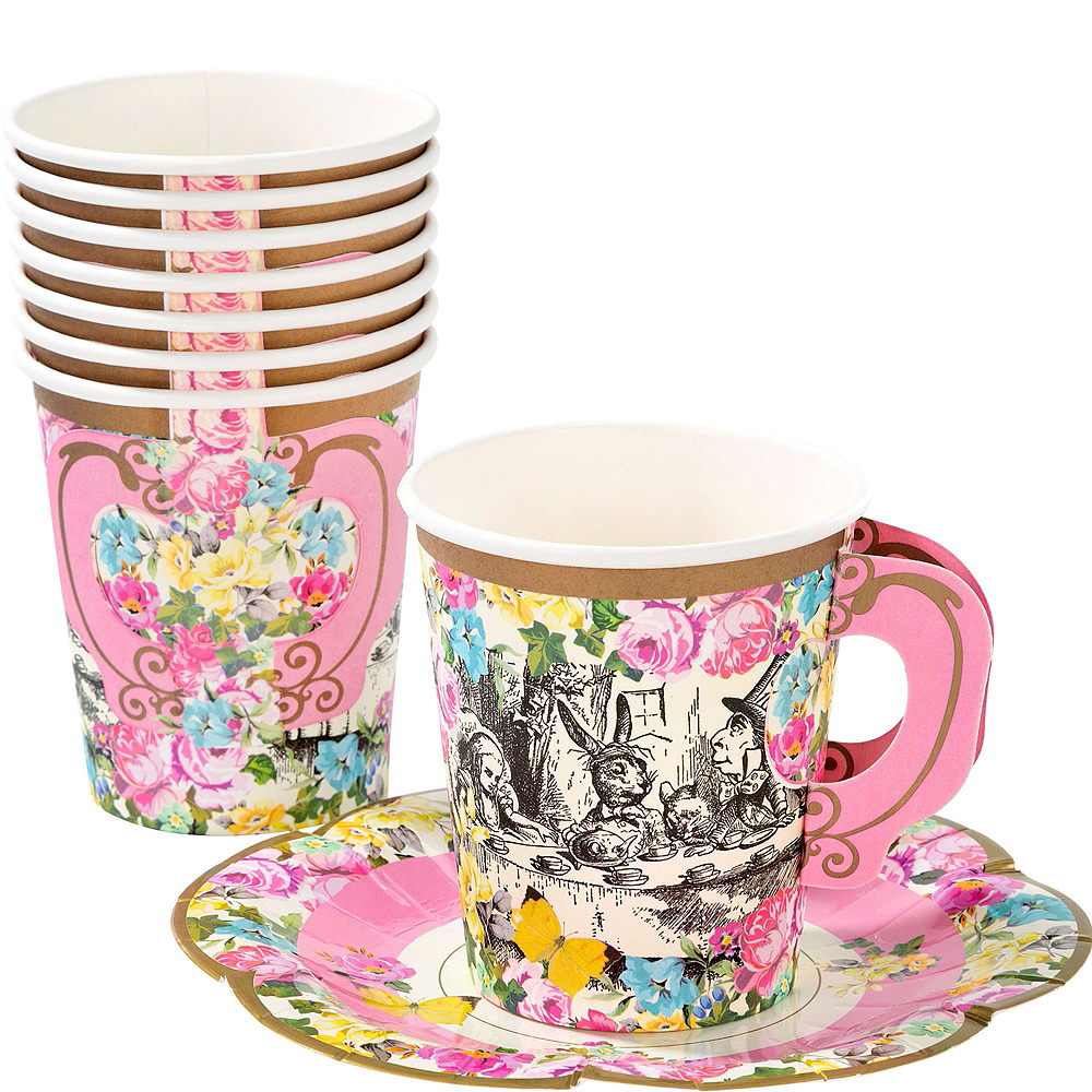 Alice in Wonderland Tableware Party Kit for 12 Guests Image #7