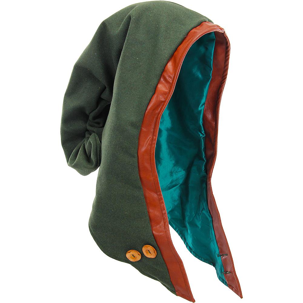 Adult Woodland Elf Plush Hood Image #2