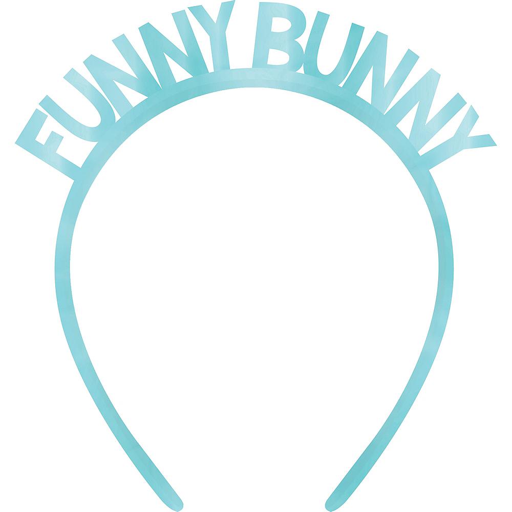 Blue Funny Bunny Headband Image #1
