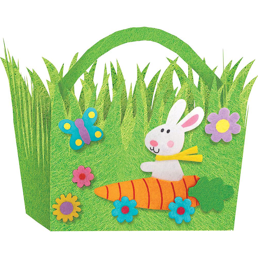 Felt Grass Easter Basket Image #1