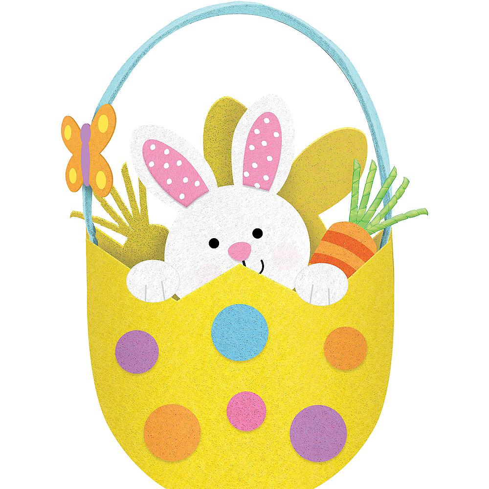 Easter Bunny Egg Easter Basket Image #1