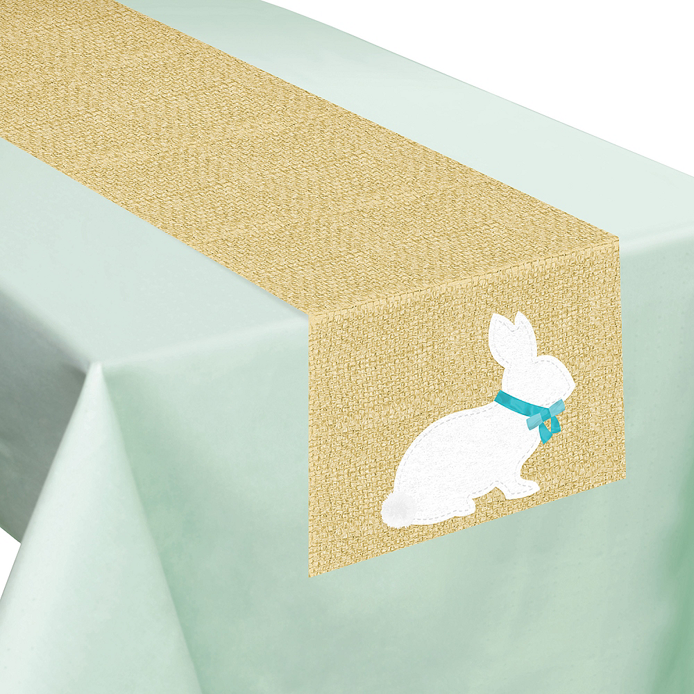 Rustic Easter Bunny Table Runner Image #1