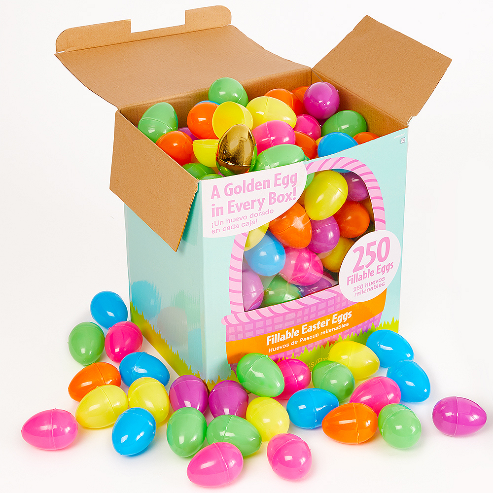 Nav Item for Multi-Colored Fillable Easter Eggs 250ct Image #2