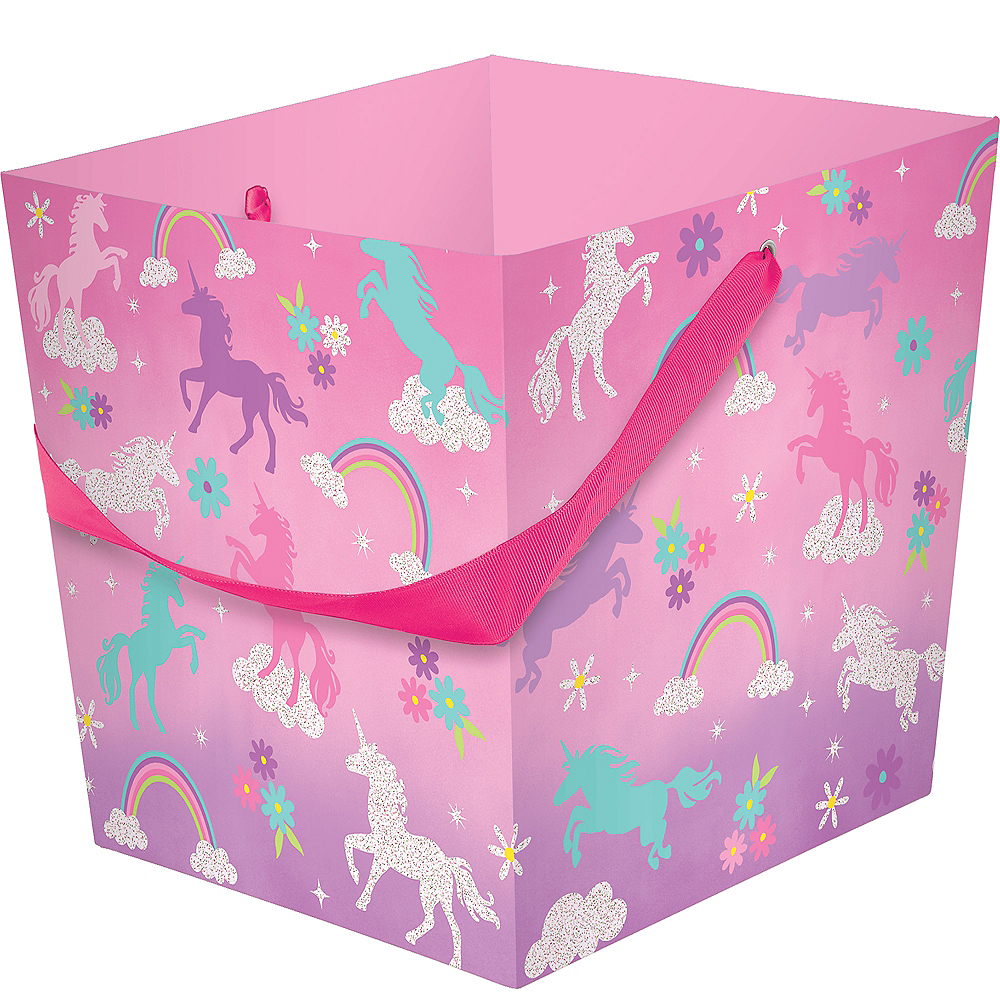 Unicorn Square Easter Basket Image #1