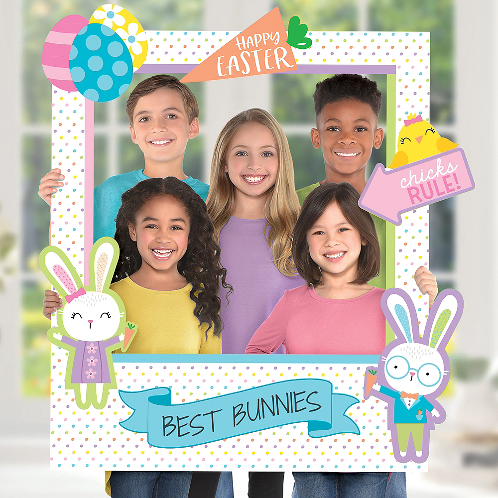 Giant Customizable Easter Photo Frame Kit Image #1