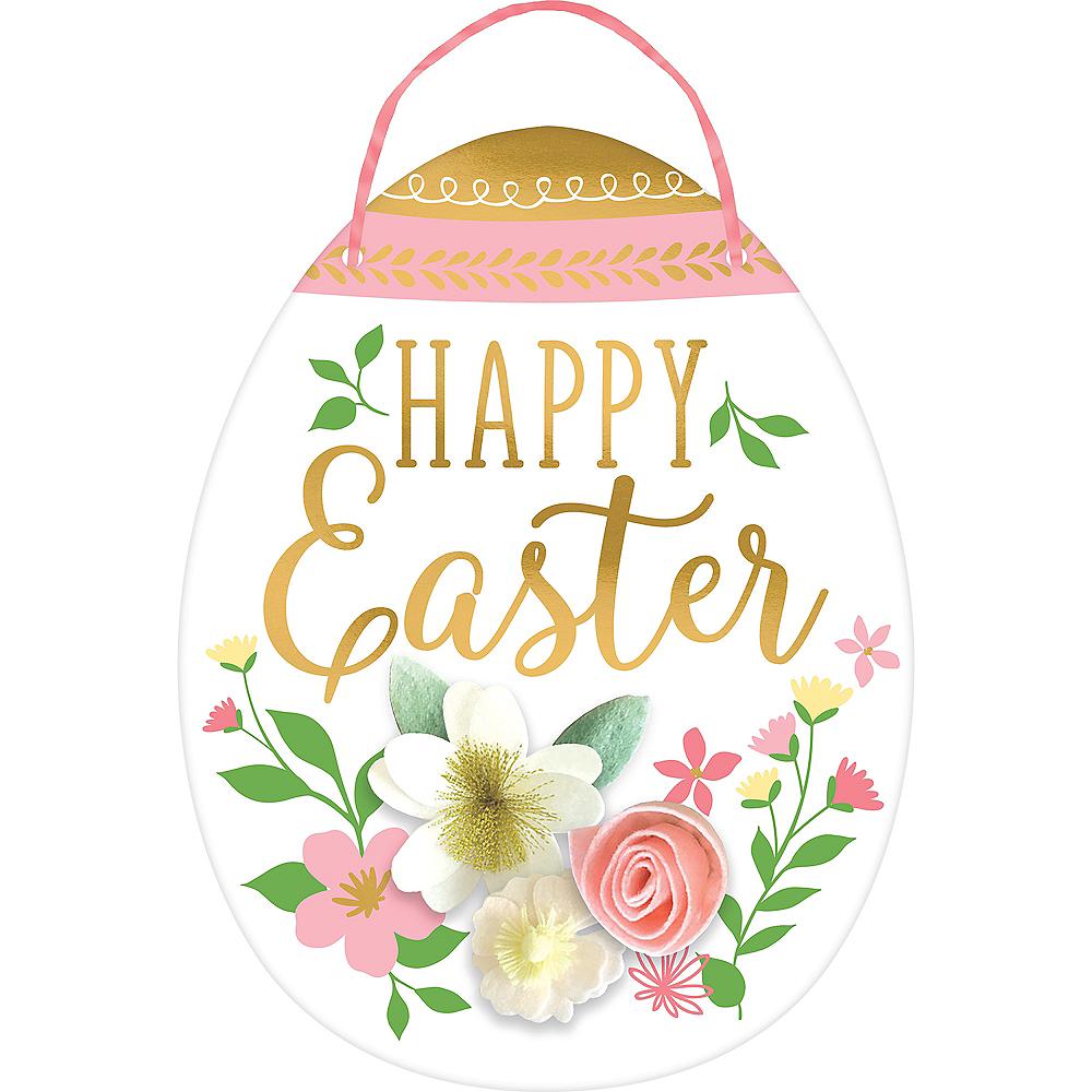Happy Easter Egg Sign Image #1