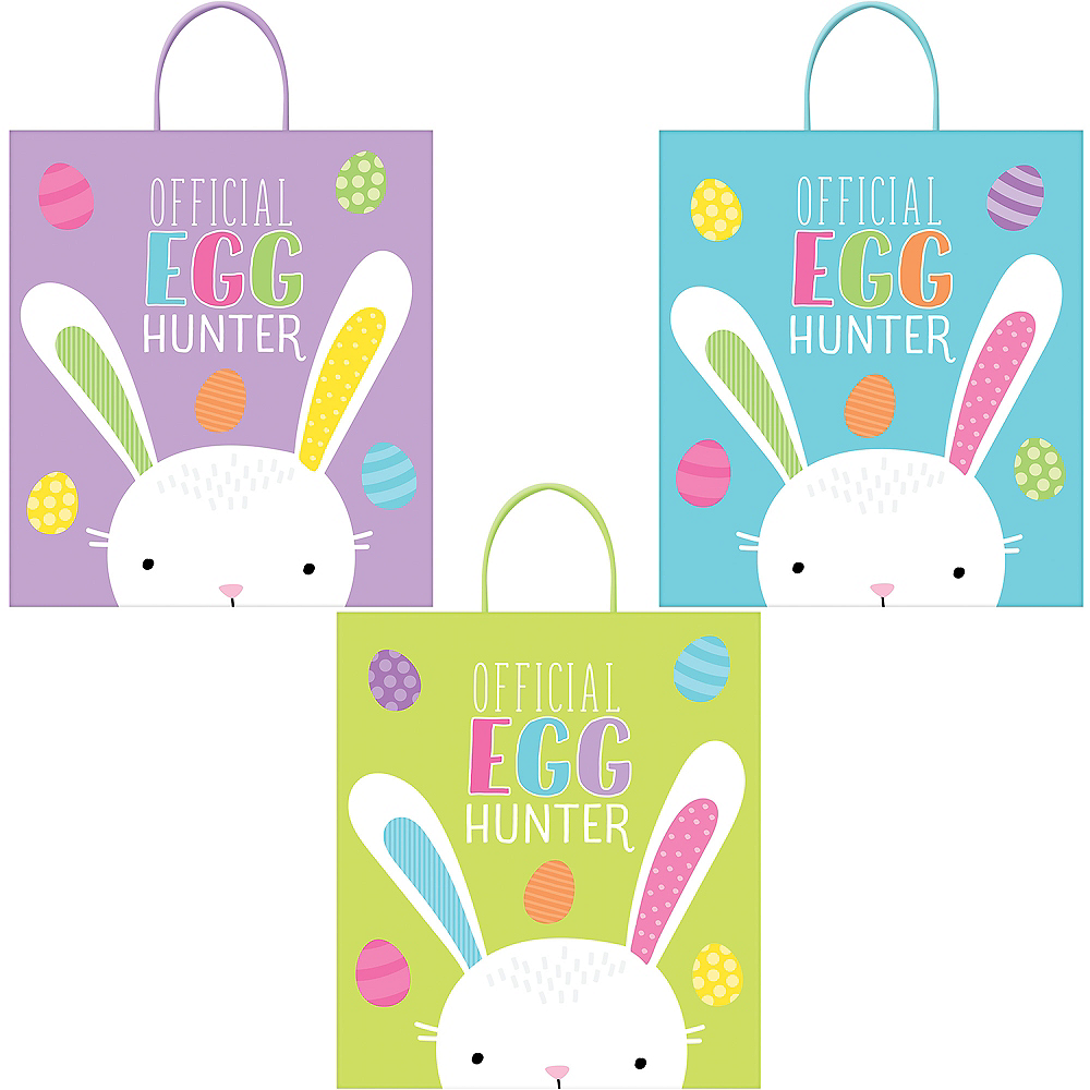 Easter Egg Hunt Bags 3ct Image #1