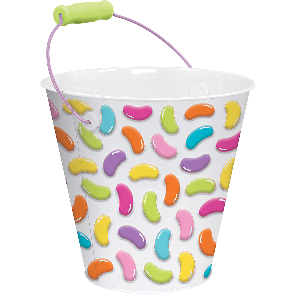 Jelly Bean Metal Pail Image #1