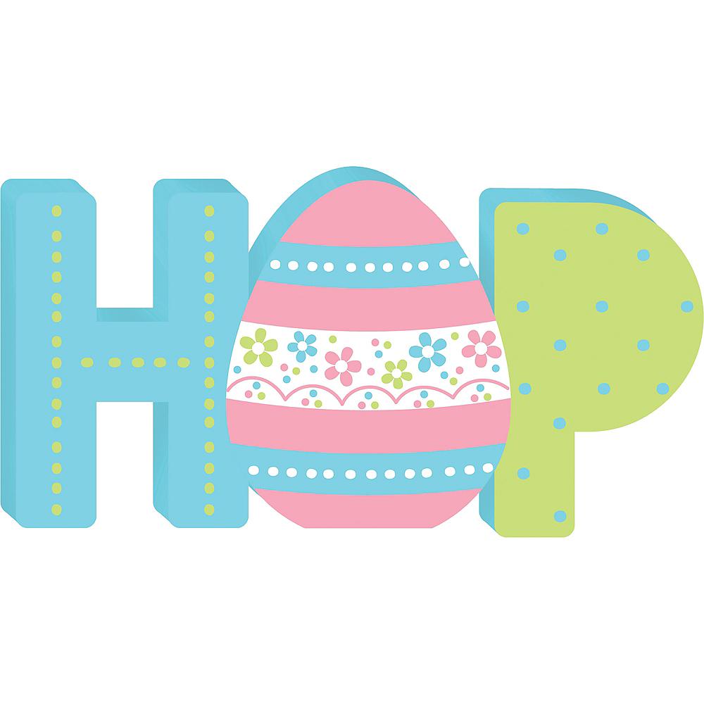 Hop Block Letter Sign Image #1