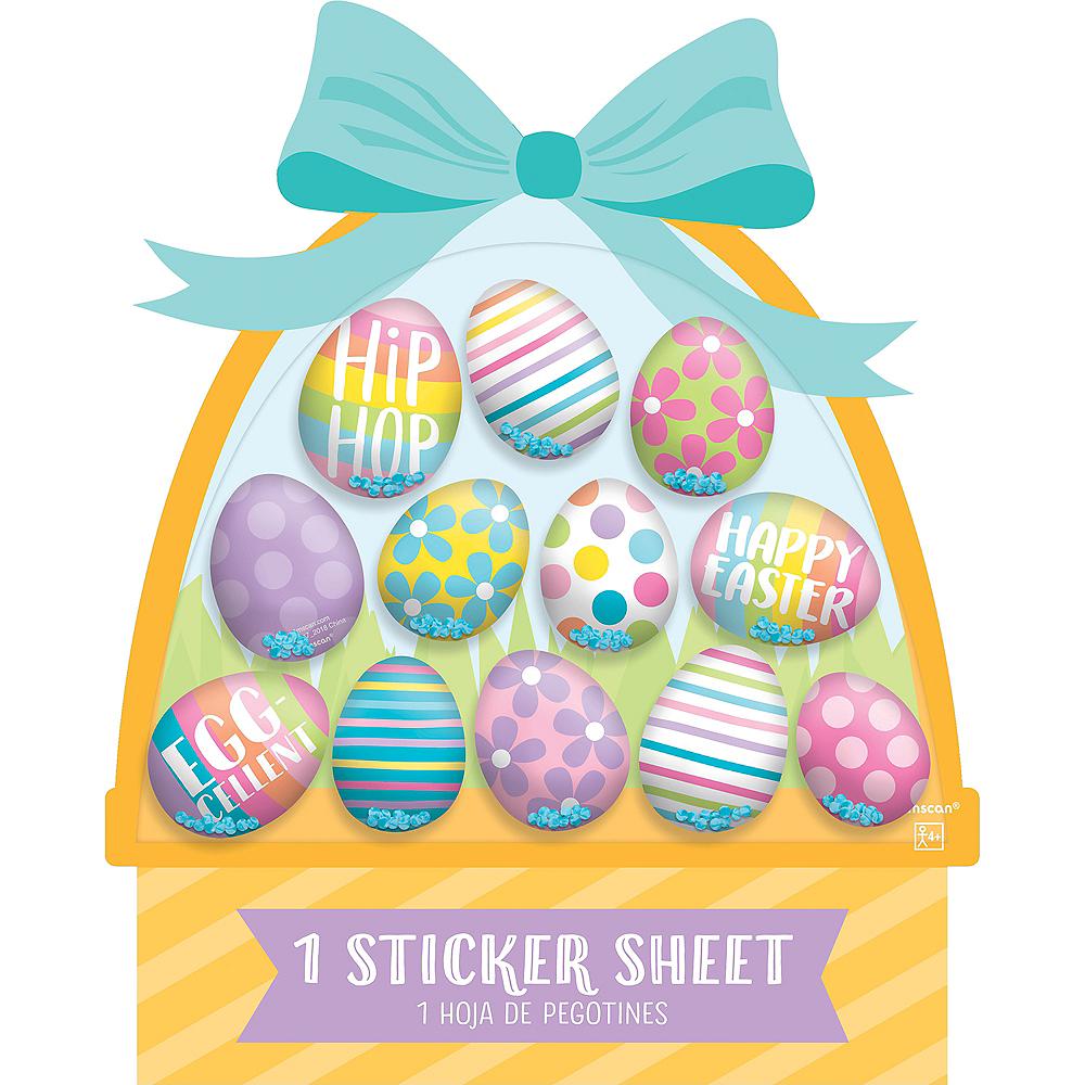 Easter Egg Sticker Shakers 1 Sheet Image #1
