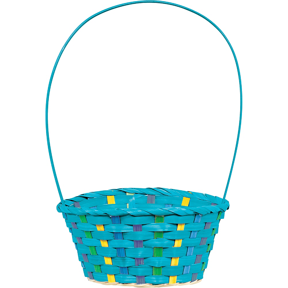 Nav Item for Small Blue Easter Basket Image #1