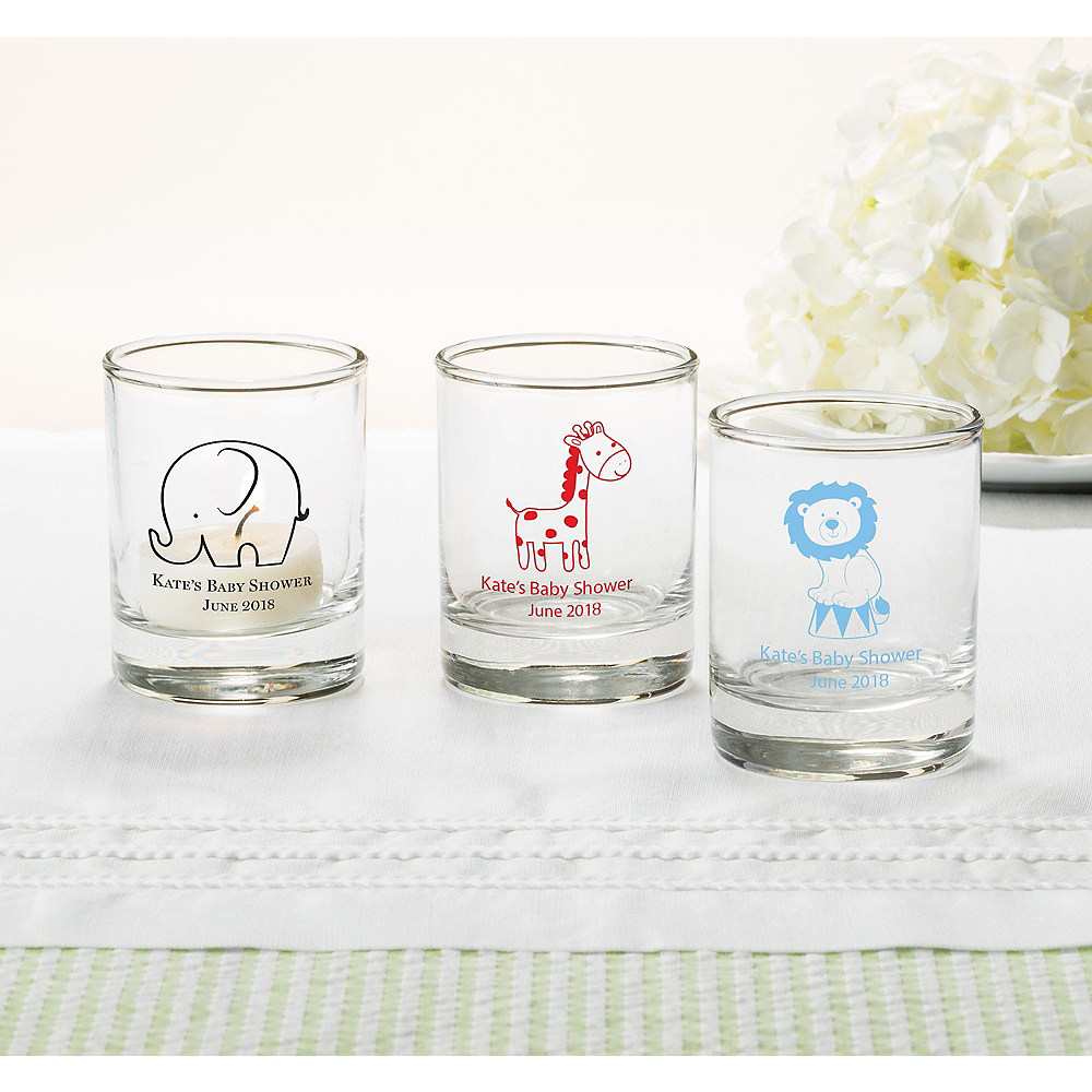Nav Item for Personalized Baby Shower Shot Glasses (Printed Glass) Image #1