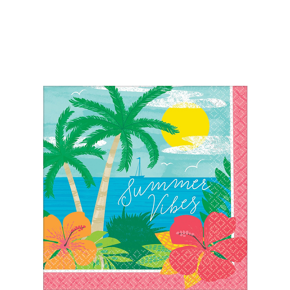 Summer Vibes Tableware Kit for 60 Guests Image #4