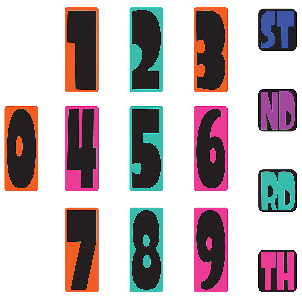 Splatoon Birthday Banner Kit Image #2