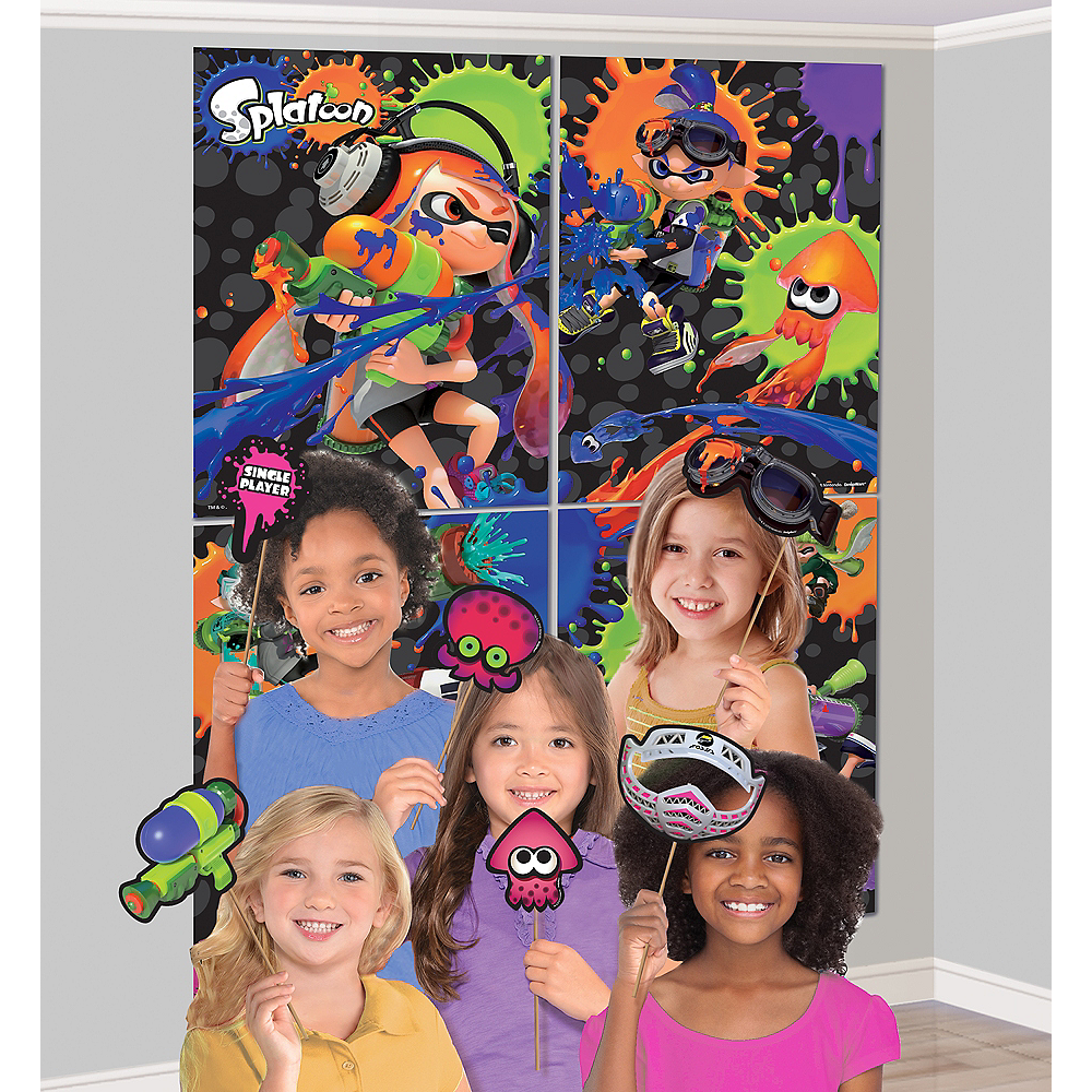 Splatoon Scene Setter with Photo Booth Props Image #1