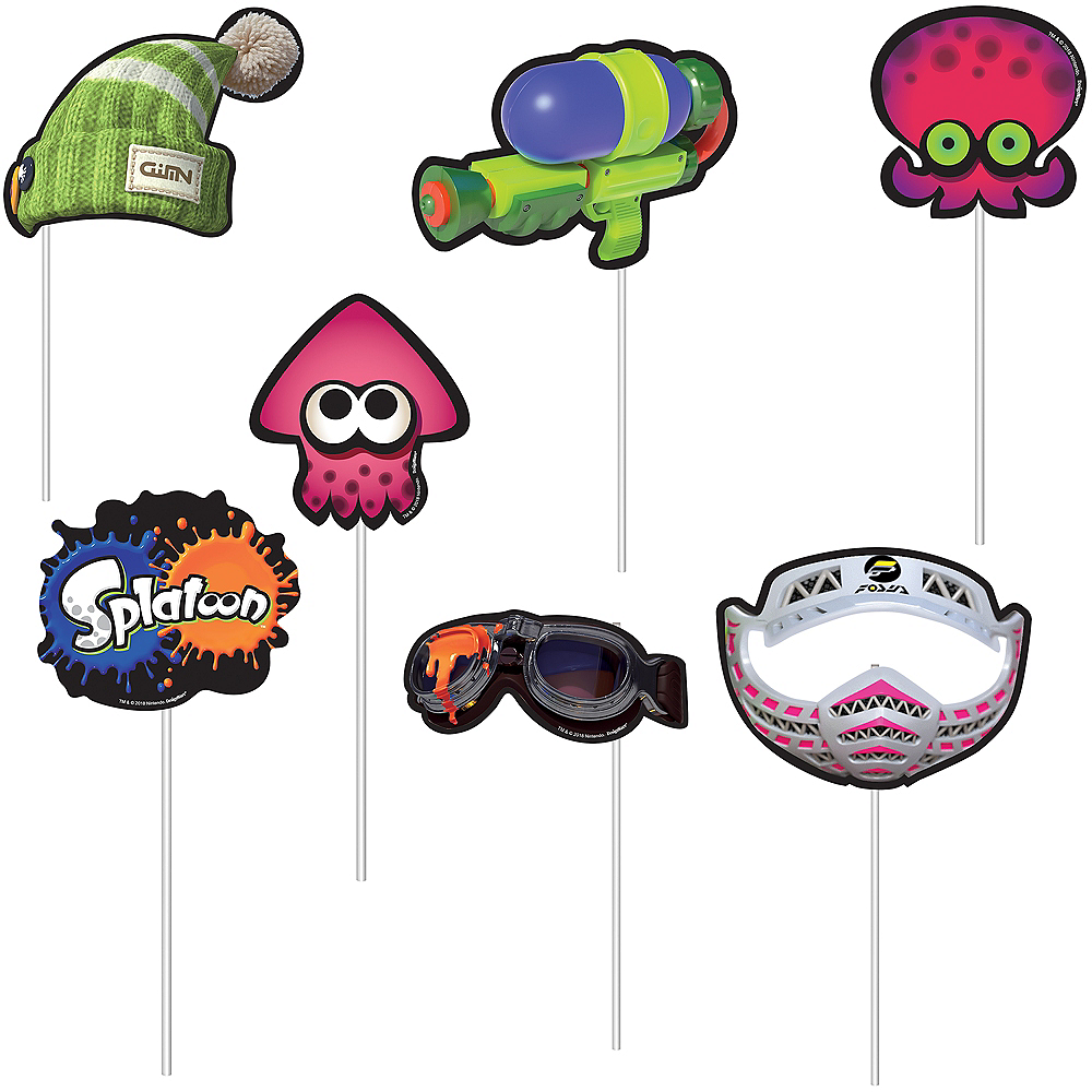Splatoon Scene Setter with Photo Booth Props Image #3