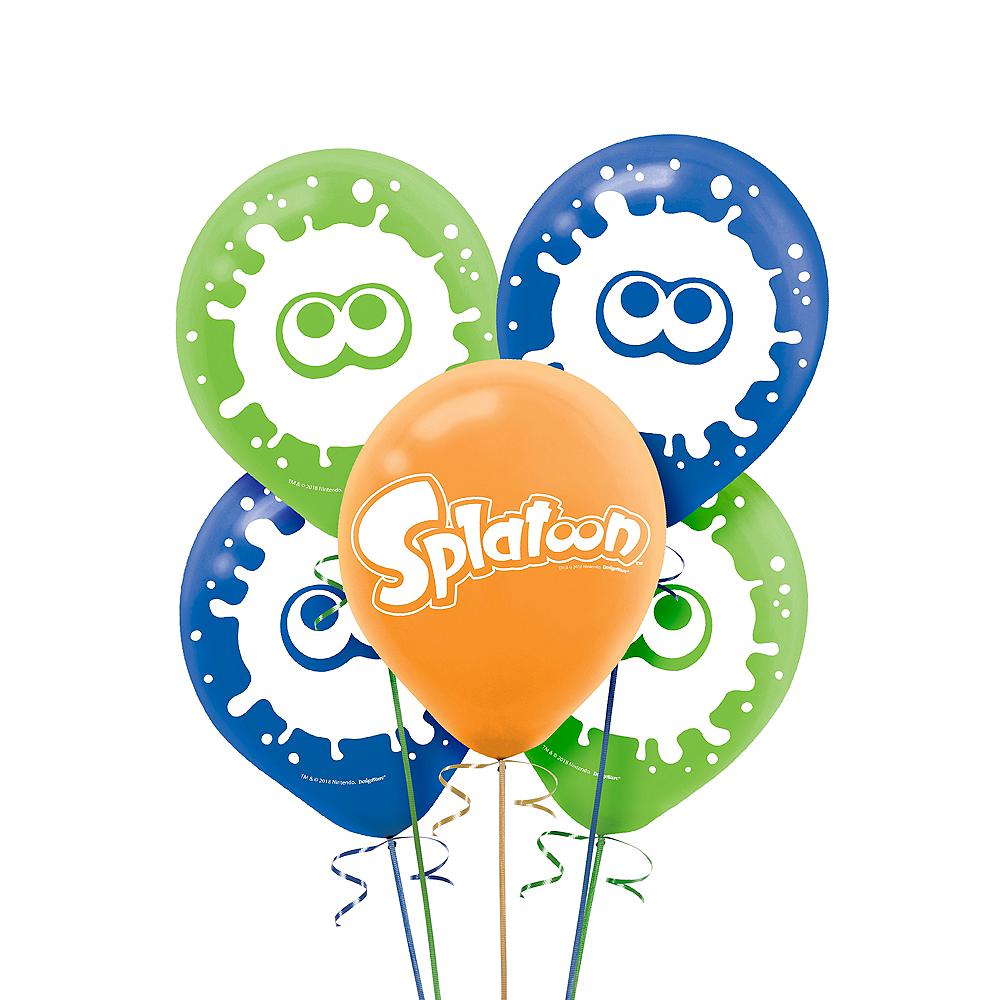 Splatoon Balloons 5ct Image #1