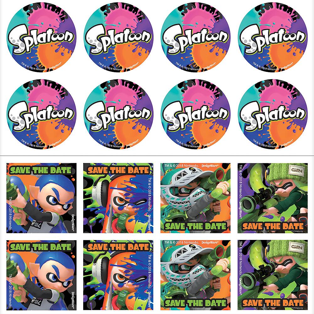 Splatoon Invitations 8ct Image #2