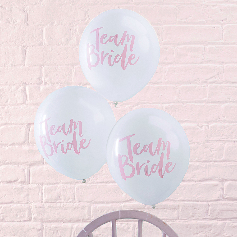 Ginger Ray Team Bride Balloons 10ct Image #1