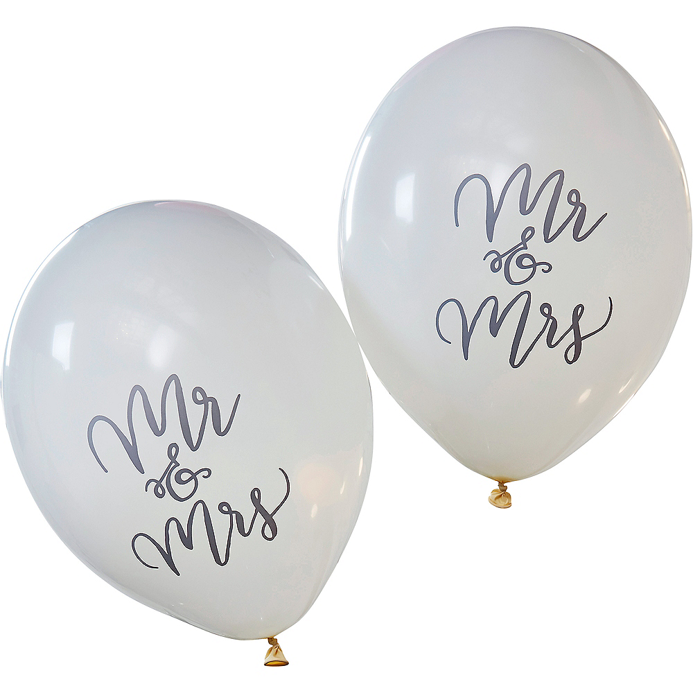 Ginger Ray Mr. & Mrs. Balloons 10ct Image #2