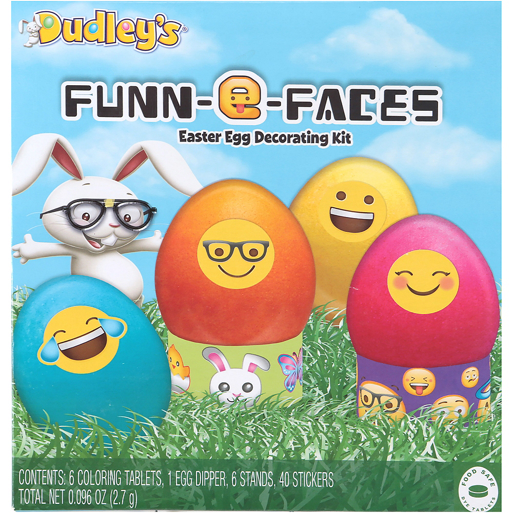 Smiley Easter Egg Decorating Kit 52pc Image #1
