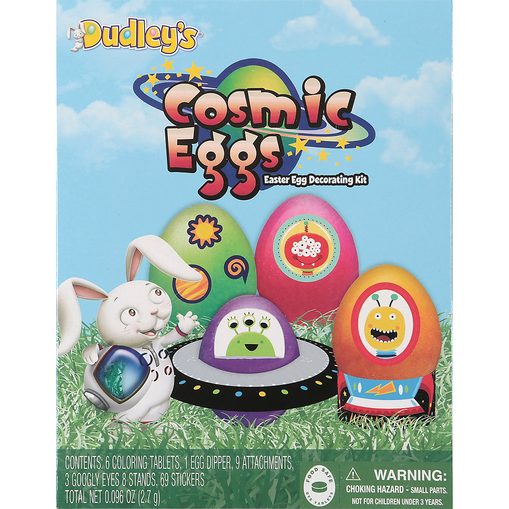 Cosmic Easter Egg Decorating Kit 96pc | Party City
