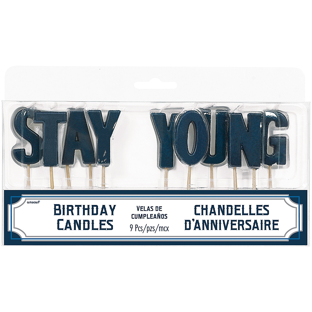 Stay Young Toothpick Candle Set 9pc Image #1