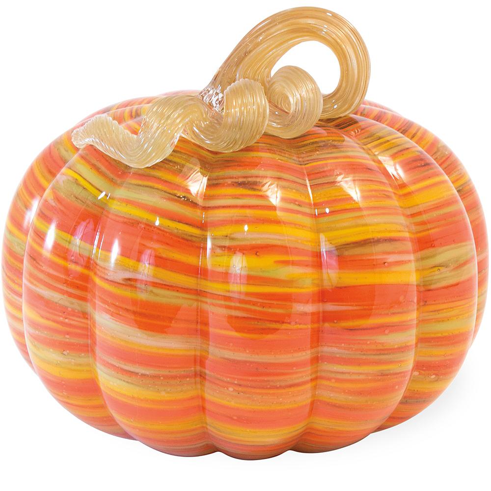 Glass Swirl Pumpkin Image #1