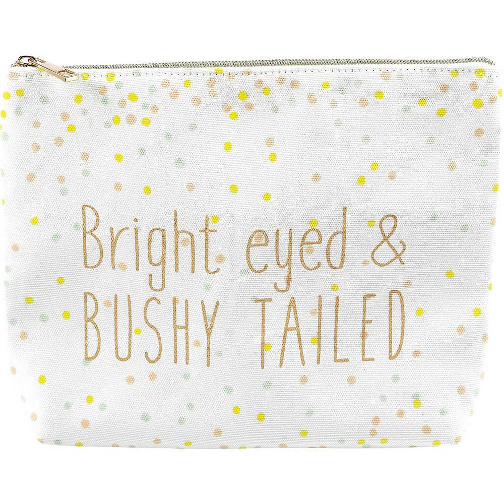 Nav Item for Bright Eyed & Bushy Tailed Makeup Bag Image #1