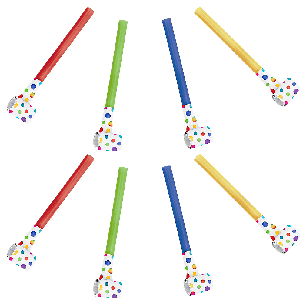 Nav Item for Rainbow Confetti Dot Blowouts Image #1