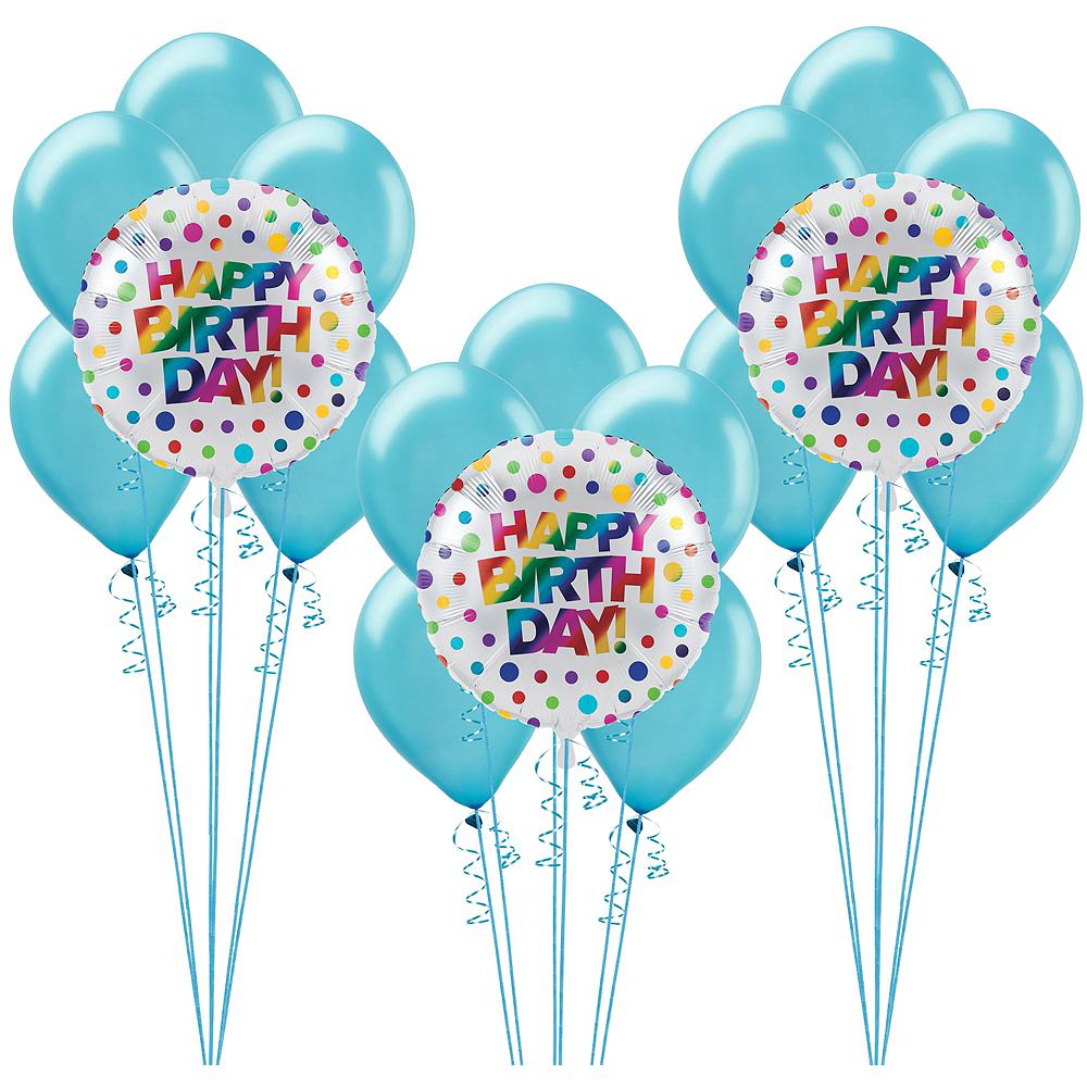 Metallic Rainbow Balloon Kit Image #1