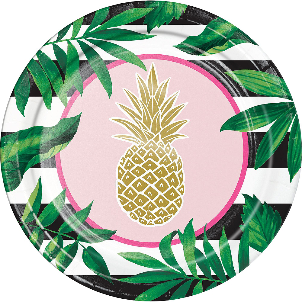 Gold Pineapple Party Kit for 16 Guests Image #3