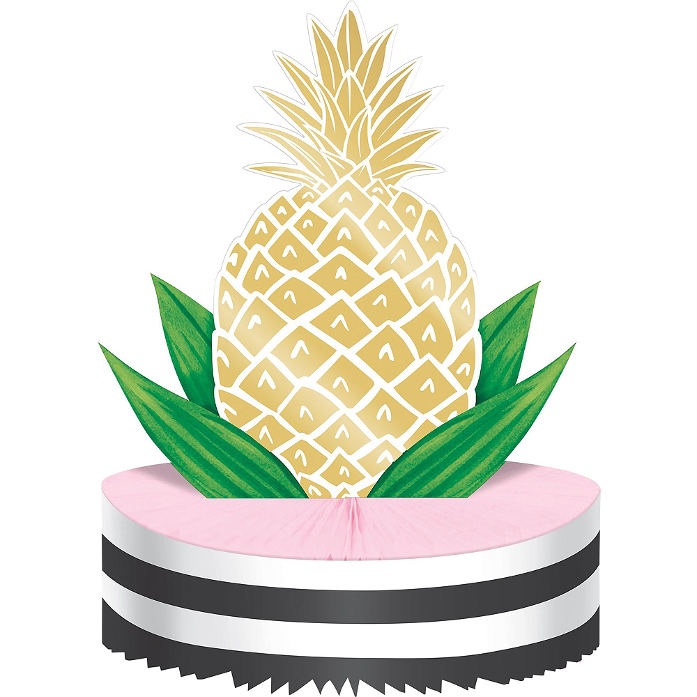Gold Pineapple Party Kit for 16 Guests Image #8