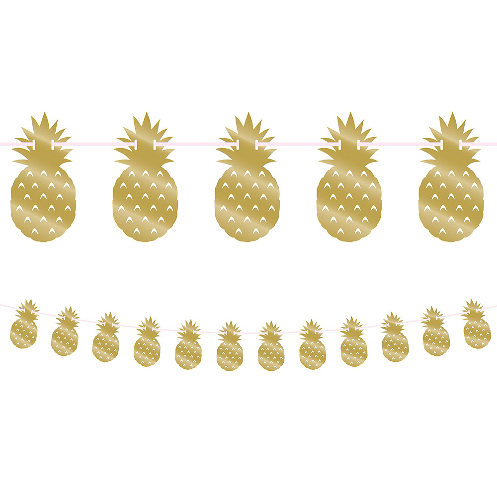 Gold Pineapple Party Kit for 16 Guests Image #9
