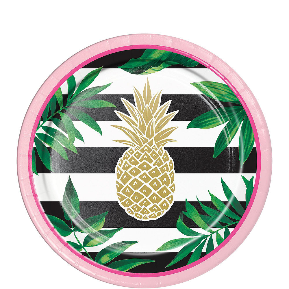 Gold Pineapple Party Kit for 32 Guests Image #2