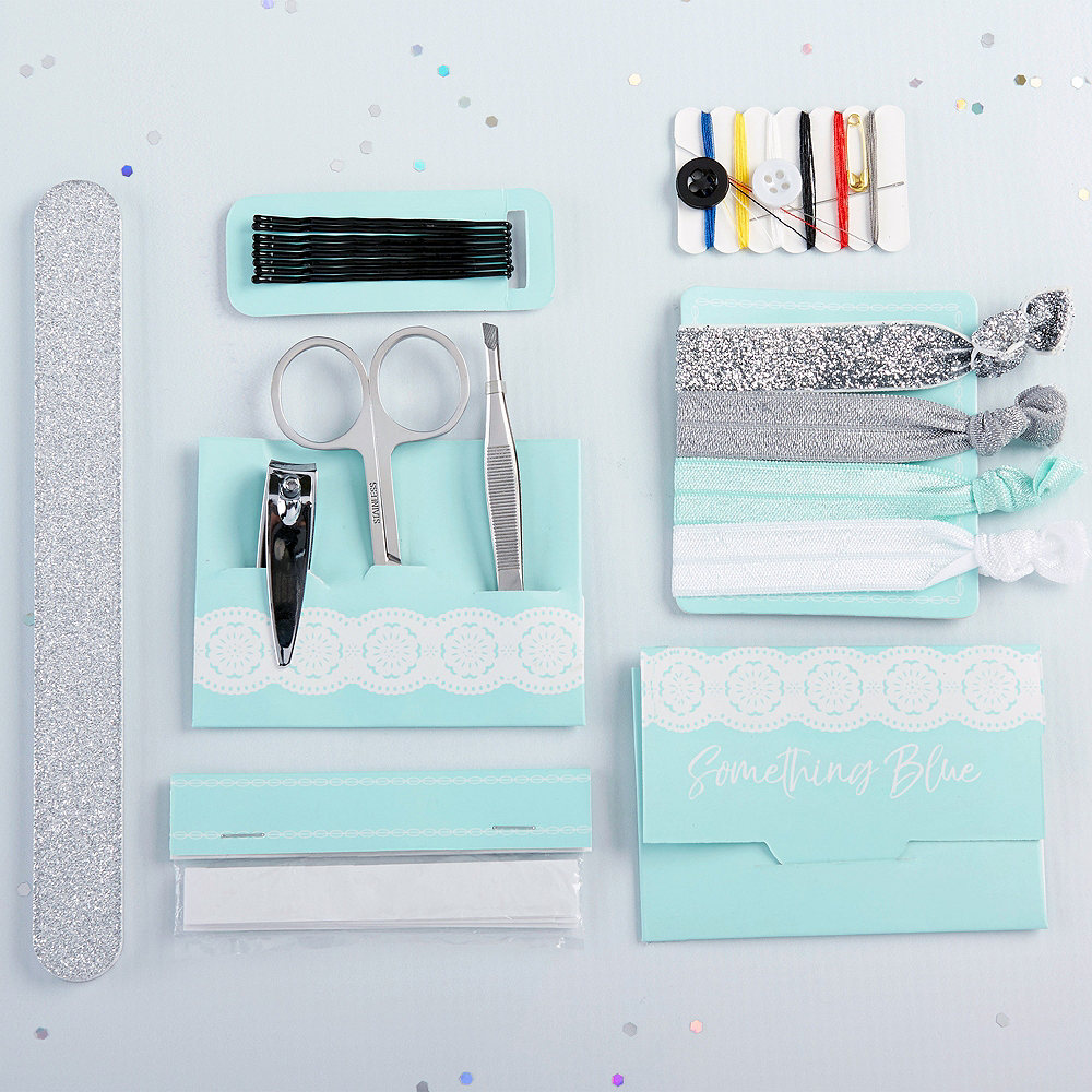 Something Blue Wedding Survival Kit 8pc Image #2