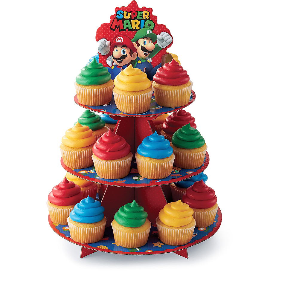 Nav Item for Wilton Super Mario Cupcake Stand Image #1