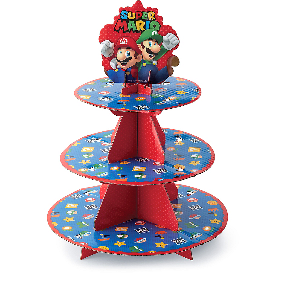 Nav Item for Wilton Super Mario Cupcake Stand Image #2