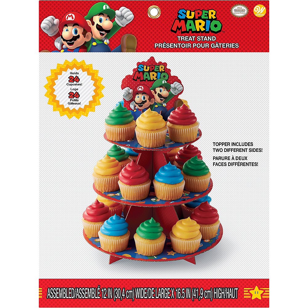 Nav Item for Wilton Super Mario Cupcake Stand Image #4